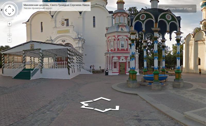 Виртуальное путешествие по Троице-Сергиевой Лавре